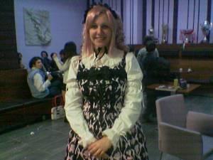 una Gothic Lolita